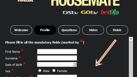 www.africamagic.tv/BBAudition - Online Big Brother Naija season 4 Audition