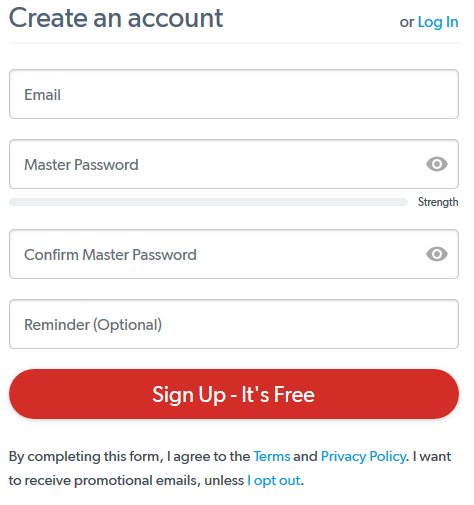 LastPass Sign In To Manage Passwords | LastPass Registration Guide