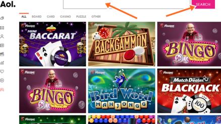 AOL Poker Online Games Portal: Texas Hold'em (No Limit) Online