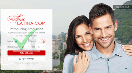 Steps To Amolatina Dating Site Login With Email Or Facebook