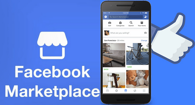 Access Facebook Marketplace Icon On Android, Computer + Free Stuff