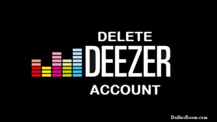 How To Login & Delete Deezer Account   Deezer.com Deactivation
