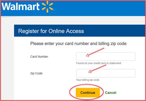 www.walmart.com Credit Card Sign In - Walmart Card Login