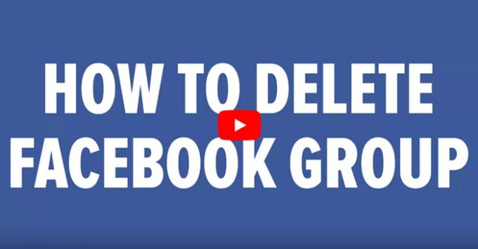 How Do I Delete A Facebook Group? - Facebook Delete A Group
