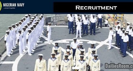 2020 Nigerian Navy Recruitment Application & Requirements