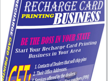 BEST RECHARGE CARD MAJOR DEALERS In Nigeria