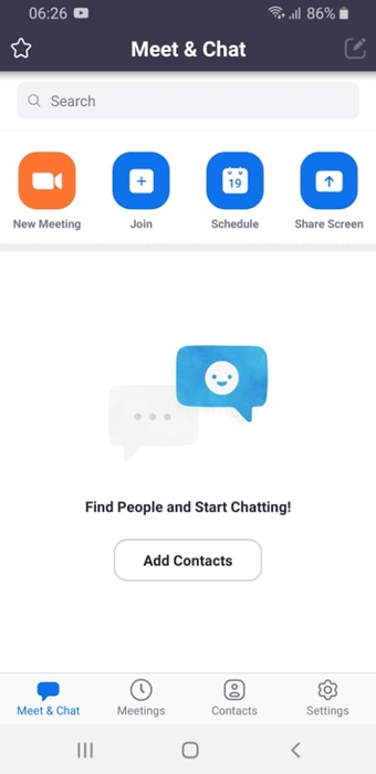 SETUP ZOOM MEETING APP For Video Call