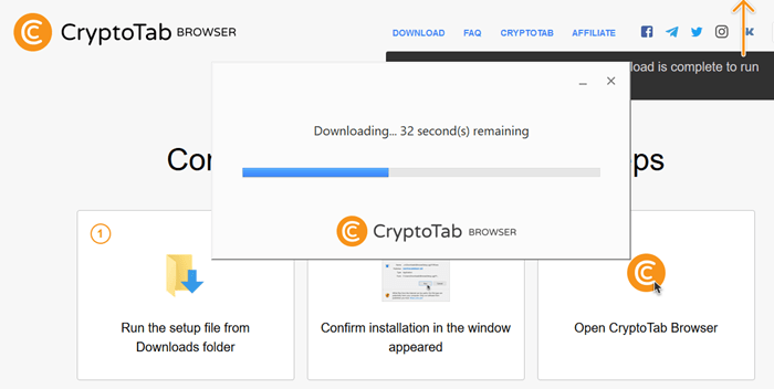 Download CryptoTab Browser for Free