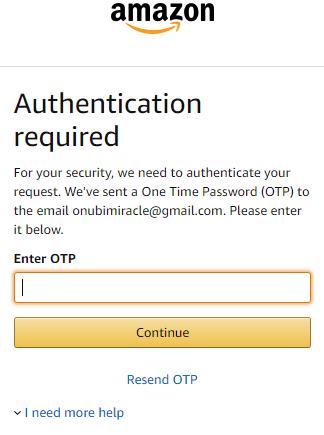 www.amazon.com Password Assistance - Amazon Password Reset