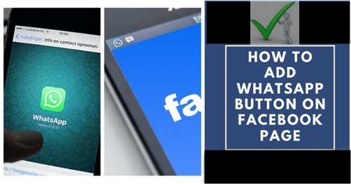 How To Add Whatsapp Button To Your Facebook Business Page