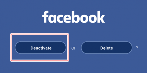 Steps To Facebook Account Deactivation - Make FB.com Inactive