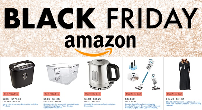 When Is Next Amazon.com Black Friday Sale? Amazon Black Friday Deals