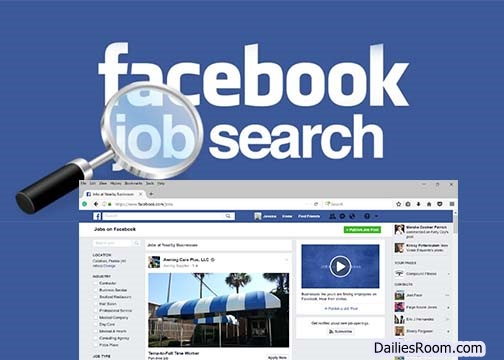 How To Find Jobs Using FB.com | Facebook Jobs From Home