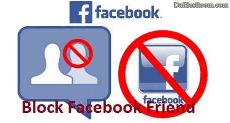 Facebook Blocking: How To Block Facebook User/Friend