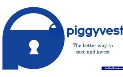 Sign Up On PiggyVest App   PiggyVest Register On Mobile Phone