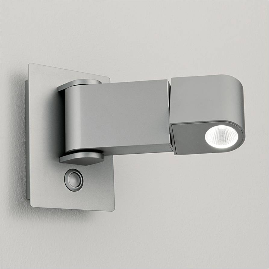 3W LED interior wall mounted hotel bedside reading light on Led Interior Wall Sconces id=62137