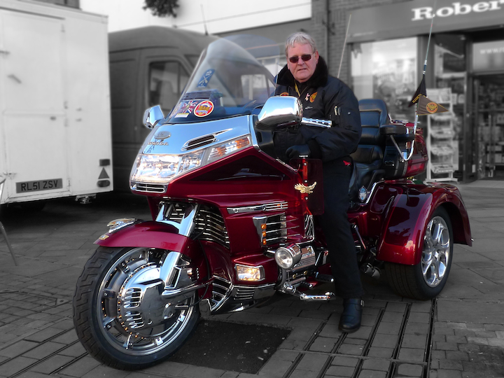 Buck and his Goldwing