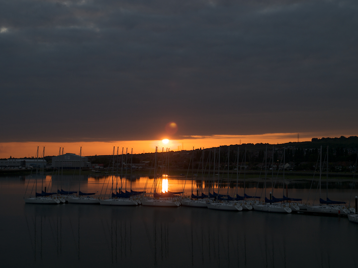 Port Solent Sunset