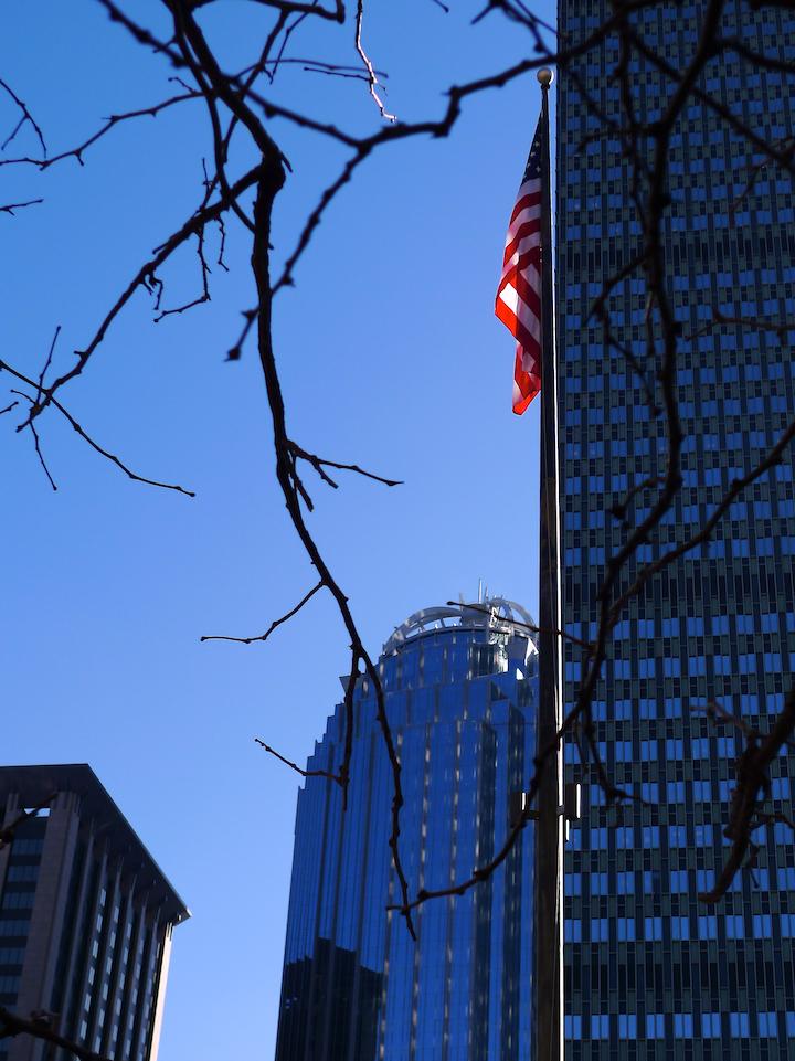 Blue Sky in Boston