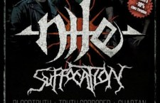 [Live report] Nile + Suffocation + Truth Corroded + Bloodtruth + Chabtan @ CCO (Lyon, 69) 12 Septembre 2015