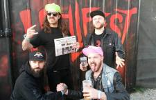 [INTERVIEW HELLFEST ] DANCE LAURY DANCE – Lap (batterie) Max (chant) – Harry (basse) – Phil ( guitare)