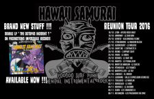 [LIVE REPORT] HAWAII SAMURAI + SHEENA AND THE BRATS – 30.10 – Secret Place – Montpellier (34)