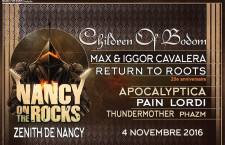 [PREVIEW] NANCY ON THE ROCKS – 04.11 – Zénith de Nancy (54)
