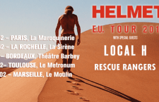 [PREVIEW] HELMET+LOCAL H + RESCUE RANGERS – 20.02 – Le Moulin – Marseille (13)