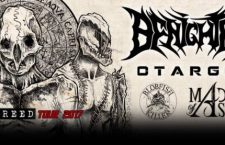 [PREVIEW] BENIGHTED + OTARGOS + BLOBFISHKILLER + MADE OF ASHES – 11.02 – Le Rat's – Puget sur Argens (83)