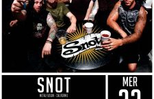 [PREVIEW ] SNOT + BREED MACHINE – 22.03 – Secret Place – Montpellier (34)