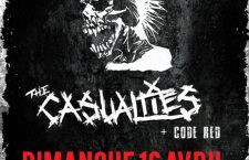 [CONCOURS] GAGNEZ 1 PLACE POUR THE EXPLOITED + THE CASUALTIES+ CODE RED à la Secret Place de Montpellier le 16 Avril.