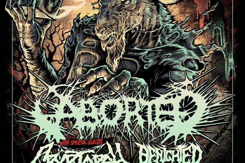 [LIVE REPORT] HELL OVER EUROPE II : ABORTED + CRYPTOPSY + BENIGHTED + CYTOTOXIN – Noumatrouff – Mulhouse (68) – 02.11
