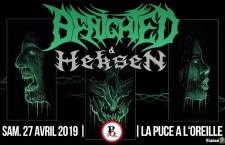 [Live Report] Benighted+Heksen-27/04-La Puce à l'Oreille-Riom (63)