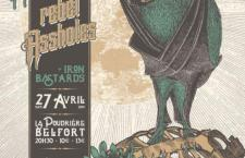 [LIVE REPORT] RELEASED PARTY : HELLBATS + REBEL ASSHOLES + IRON BASTARDS – 27.04 – La poudrière – Belfort (90)