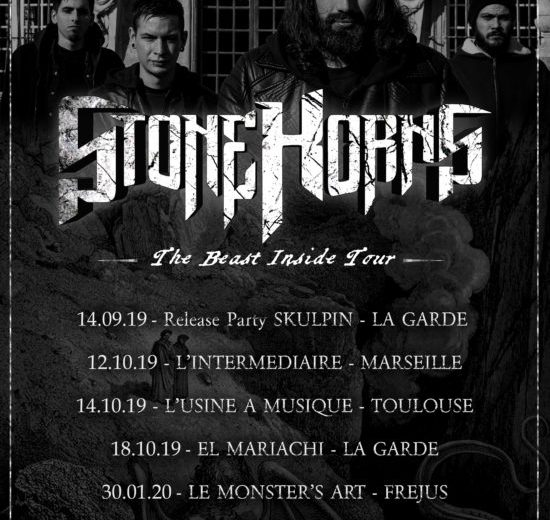 [PREVIEW TOURNEE ] STONE HORNS EN TOURNEE