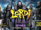 [LIVE REPORT] LORDI + AETERNITAS + FLESH ROXON – 26.02 – L'Usine Istres (13)