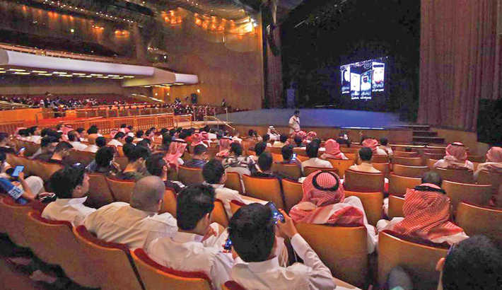 Hasil gambar untuk saudi cinema audiences