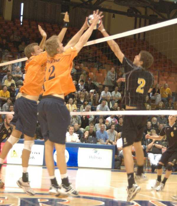 Men's volleyball season ended by Pepperdine – again ...