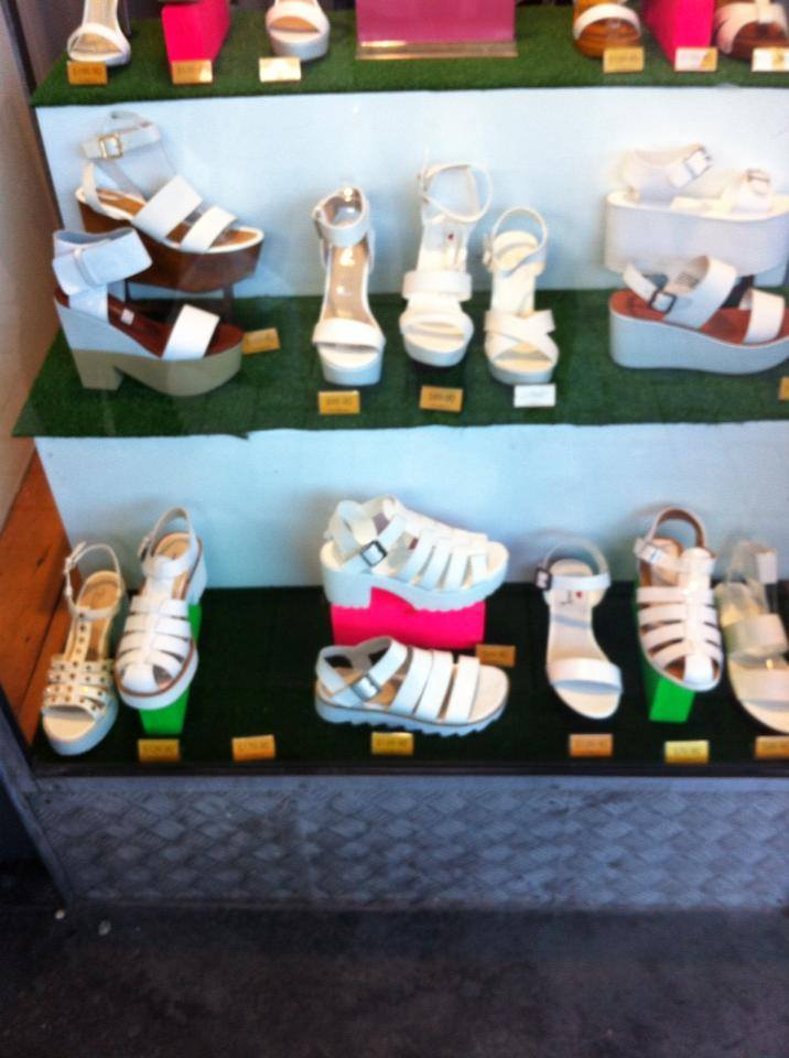 Sandales plateformes