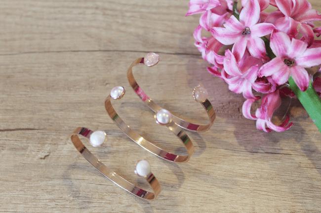bracelets joncs by clo