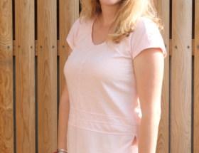 T-shirt rose poudré Captain Tortue
