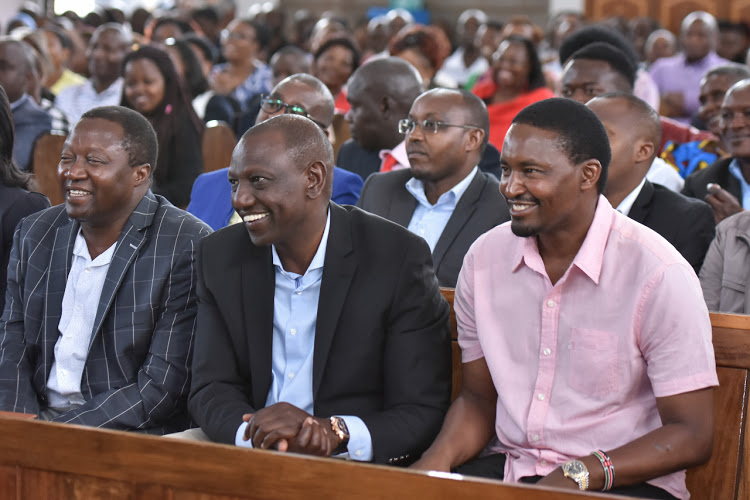 Image result for kiunjuri with ruto""