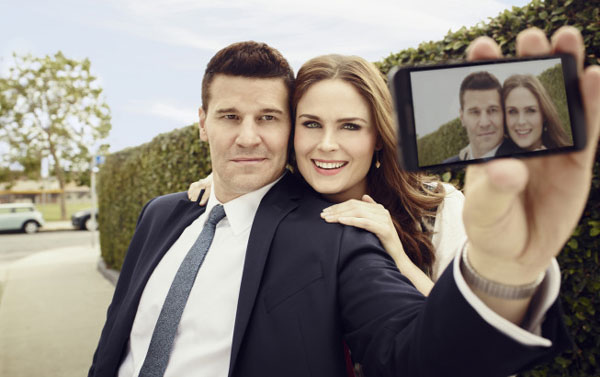 David Boreanaz And Emily Deschanel 2014 Q & A: David Borea...