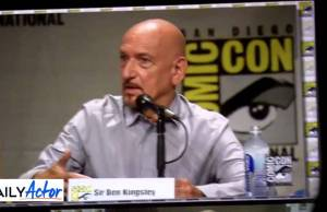 Sir Ben Kingsley Talks about the Unique Way He Voiced His Character in the Animated Film, 'The Boxtrolls' (video)