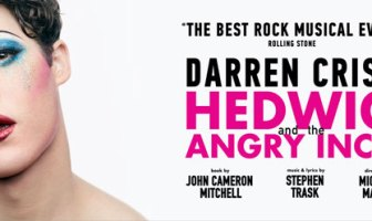 Darren Criss in Hedwig
