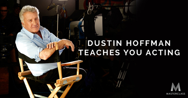dustin hoffman teaches acting in this terrific new masterclass