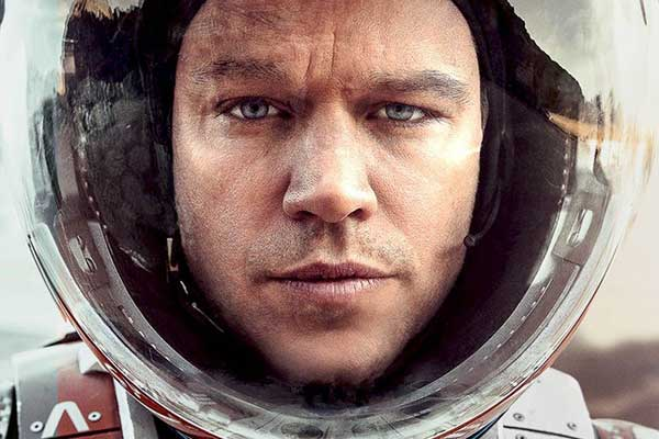 Matt Damon in 'The Martian'
