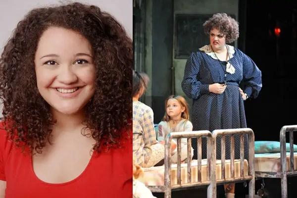 Lynn Andrews Miss Hannigan in Annie