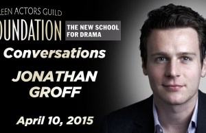 Watch: A Conversation with 'Hamilton' Star Jonathan Groff