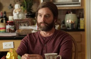 Actor Zach Galifianakis